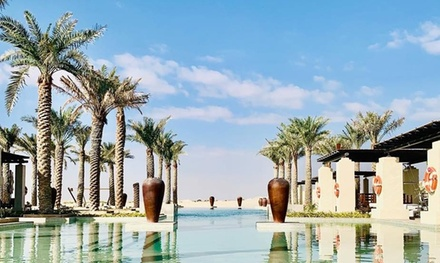 Pool Access with Optional F&B Credit for Up to Eight at Panache at 5* Jumeirah Al Wathba (Up to 60% Off)