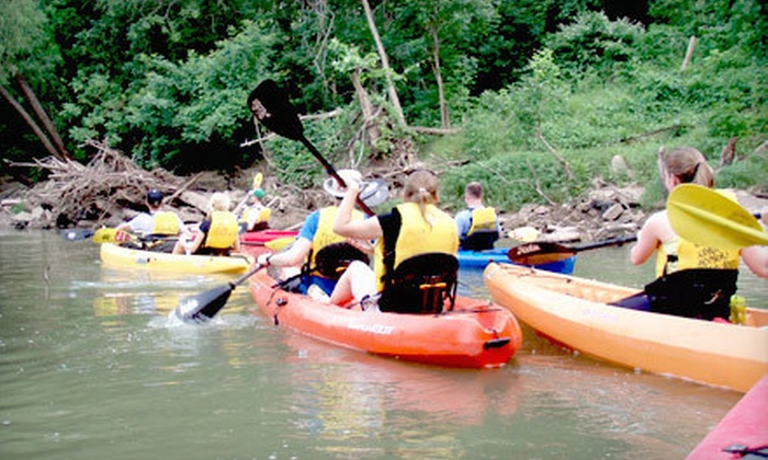 Buffalo Bayou Shuttle Service - Houston: Kayak Tour for One or Two or an Individual or Family Season Membership at Buffalo Bayou Shuttle Service (Up to 53% Off)