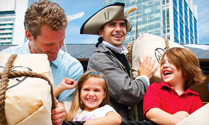 Boston Tea Party Ships & Museum - Downtown: Weekend or Weekday Admission for One or Four at Boston Tea Party Ships & Museum (Up to 48% Off)