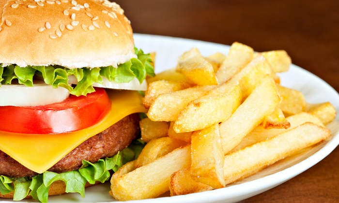 Wilbur's Grill - Ward 6: Sandwiches, Salads, and Burgers at Wilbur's Grill (50% Off). Two Options Available.