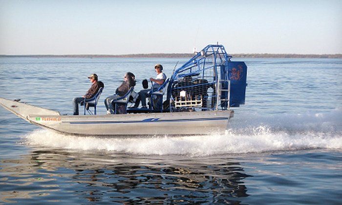 High Banks Resort - Deer River: Airboat Tour, Two-Night Cabin Stay for Two, or Four-Night Stay for Four or Six at High Banks Resort (Up to 60% Off)