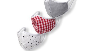 Washable and Reusable Non-Medical Cotton Mask Set (1-, 3-, 6-Piece)