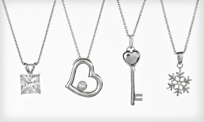 Cate & Chloe Pendant Necklaces: $14.99 for a Cate & Chloe Pendant Necklace ($99 List Price). Four Options Available.