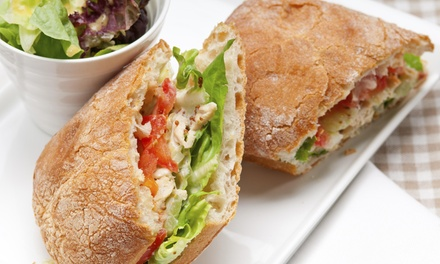 Two Sandwiches at Turtle Leaf Cafe (40% Off)