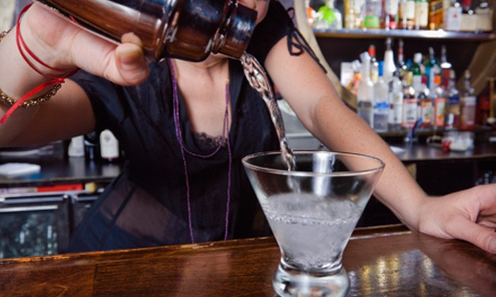 Mixology Bartending Academy - Allied Gardens: One- or Two-Week Bartending Course for One or Two at Mixology Bartending Academy (Up to 55% Off)
