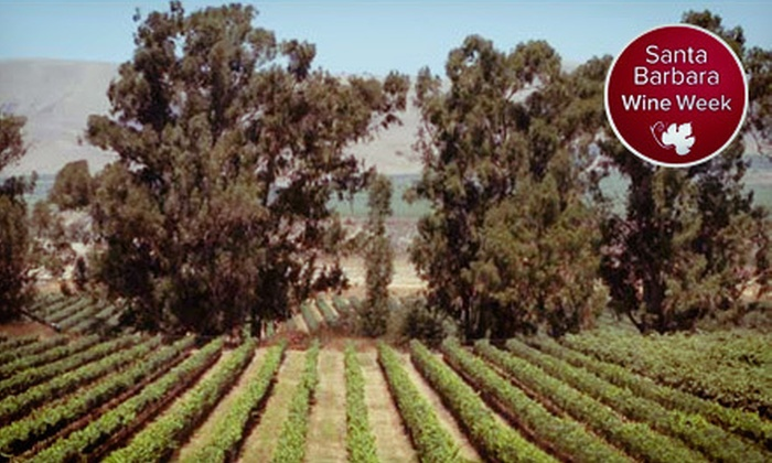 Lucas & Lewellen Vineyards and Winery - Downtown Solvang: $47 for Vineyard Tour and Wine Tasting on Sunday, October 28 at Lucas & Lewellen Vineyards and Winery ($95 Value)