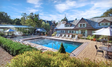 One- or Two-Night Stay with Spa and Dining Credits at The Pointe Hotel at Castle Hill Resort & Spa in Cavendish, VT from The Pointe Hotel at Castle Hill Resort & Spa -