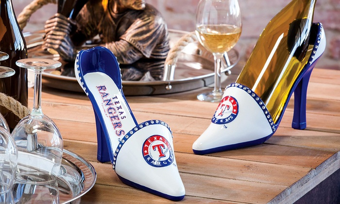 MLB Wine Bottle Shoe Holder: MLB Wine Bottle Shoe Holder. Multiple Teams Available. Free Returns.