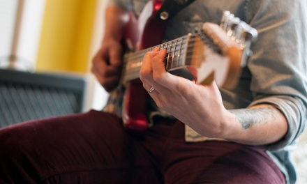 One, Two, or Four Private 30-Minute Guitar Lessons at Savior Guitar (Up to 66% Off)
