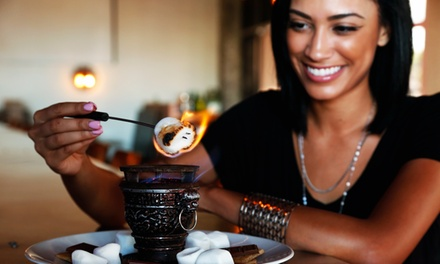 Brunch and Mimosas for Two or Bottle of Chardonnay and S'Mores at Salut Kitchen Bar (Up to 50% Off)