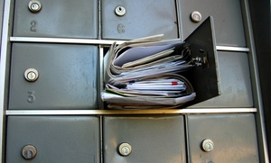 The UPS Store: Six-Month Personal or Business Mailbox Subscription The UPS Store (Up to 57% Off)