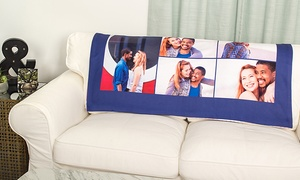 Collage.com: Custom Fleece Photo Blankets from Collage.com (Up to 78% Off). Four Options Available.