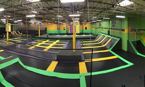 Get Air Harrisburg: Two or Four One-Hour Jump Passes or Two-Hour Party for Ten at Get Air Harrisburg (Up to 44% Off)