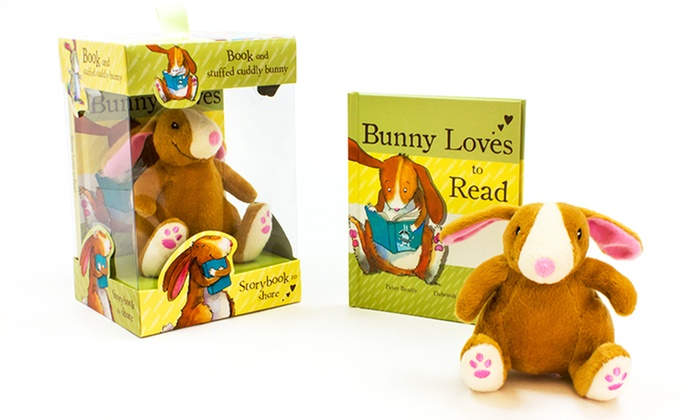 Bunny Loves to Read Children's Book and Plush Toy Set: Bunny Loves to Read Children's Book and Plush Toy Set