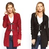 Women's Toggle Front Cardigan