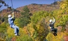 Red River Gorge Zipline - PARENT - Campton: $93 for a Two-Hour Zipline Tour for Two with Photos from Red River Gorge Zipline in Natural Bridge ($209.98 Value)