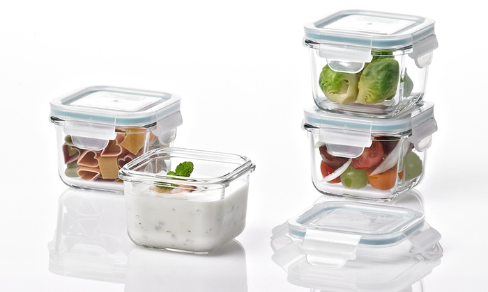 Glasslock Food Storage Container Sets Inspiration Glasslock Food Storage Container Sets Groupon
