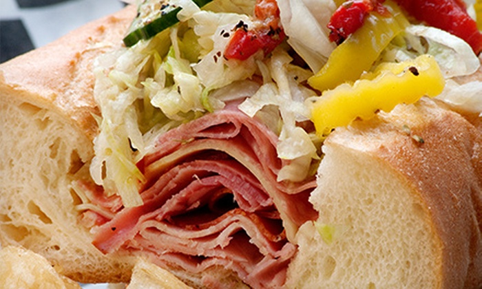 E&J's Sandwich Shop - Palm Square: Sandwich Meal for 2 or Catering for 10 at E&J's Sandwich Shop (Up to Half Off)