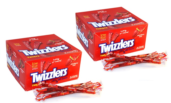2-Pack of 180-Count Twizzlers Packages: 2-Pack of 180-Count Twizzlers Packages