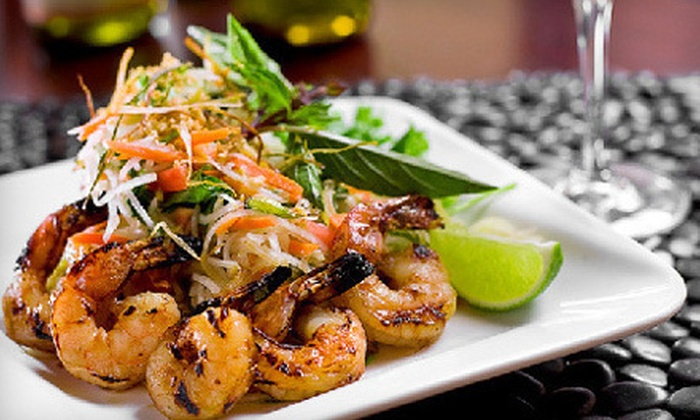 Thoa's Restaurant & Lounge - Pike Place  Market: $19 for a Vietnamese Dinner for Two at Thoa's Restaurant & Lounge (Up to $42 Value)