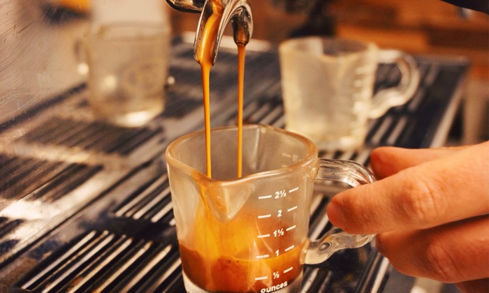 AoSA Coffee  - Huntington Beach: Stumptown Beans & Maté or Four Groupons, Each Good for $5 Worth of Cafe Fare at AoSA Coffee (Up to 40% Off)