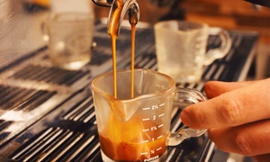 AoSA Coffee : Stumptown Beans & Maté or Four Groupons, Each Good for $5 Worth of Cafe Fare at AoSA Coffee (Up to 40% Off)