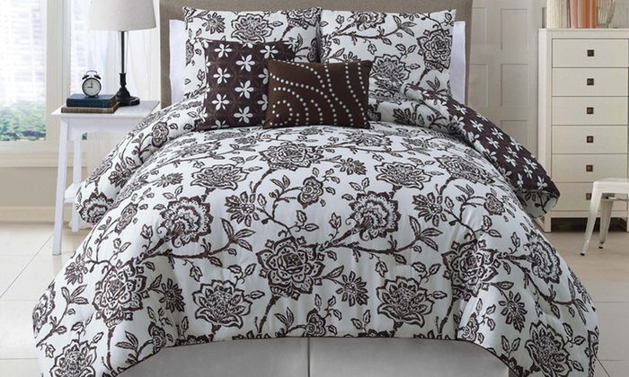 5-Piece Reversible Comforter Sets: 5-Piece Reversible Comforter Sets. Multiple Sizes from $59.99–$69.99. Free Shipping and Returns.