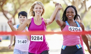 Gospelfit: Registration for One or Two for Run, Walk, Praise - A 5K Praise Party from Gospelfit (Up to 50% Off)