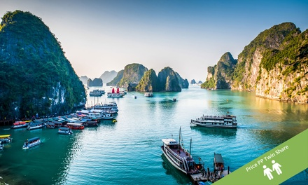 Vietnam and Cambodia: From $1,149 Per Person for a 12-Day Tour with Meals and Transfers with Halong Tours Booking