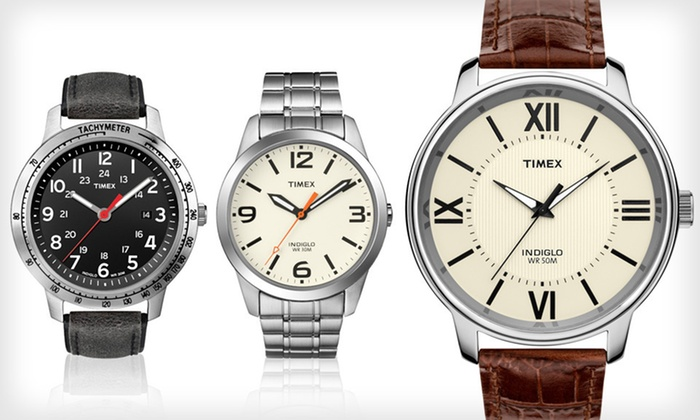 Timex Weekender Watches: Men's or Women's Timex Weekender Watch Up to 68% Off). 11 Styles Available. Free Shipping and Free Returns.