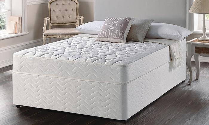 Dreamcatcher jupiter mattress groupon goods for Beds groupon