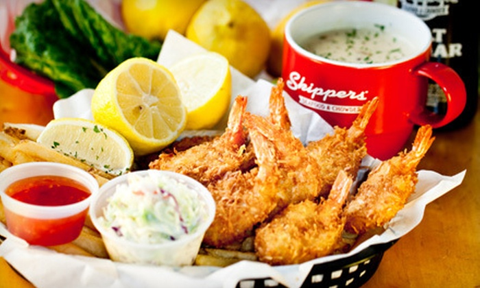 Skippers - Suncrest: Seafood for Four or $10 for $20 Worth of Seafood at Skippers in Orem (Up to 55% Off)