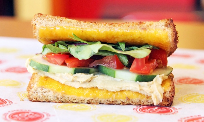 Tom + Chee - Centennial: $14 for Two Groupons, Each Good for $12 Worth of Grilled Cheese, Soup, and Salad at Tom+Chee ($24 Value)