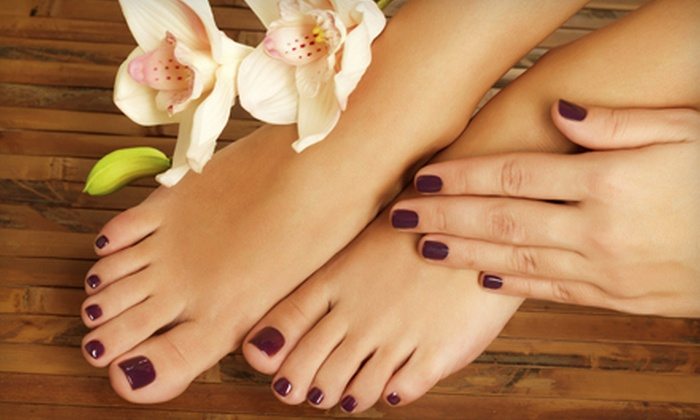Sacred Beauty Massage N' Spa - Ballast Point: Mani-Pedi at Sacred Beauty Massage N' Spa (Up to 51% Off). Two Options Available.