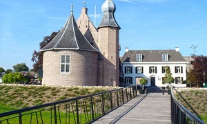 Drenthe: tweepersoonskamer of suite met ontbijt en naar keuze culinair diner in 4* Kasteel Coevorden voor 2 personen