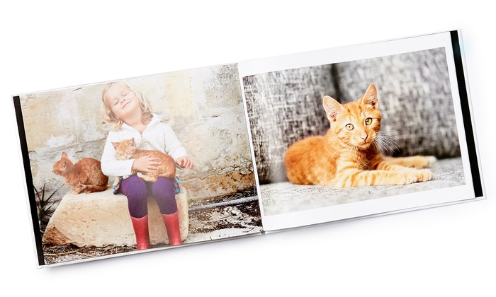 Collage.com: Custom Photo Books from Collage.com (Up to 87% Off). Five Options Available.