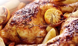 Goood Frikin Chicken: Mediterranean Food for Two or Four at Goood Frikin Chicken (Up to 45% Off)