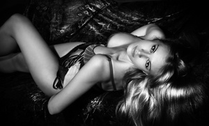 Gloss Photography Studios (Milwaukee): $69 for a Black & White Boudoir Photo Shoot Package at Gloss Photography Studios ($203 Value)