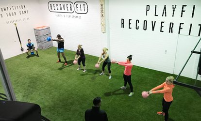 image for Five Fitness Class Passes or One-Month Membership with Unlimited Classes at Recover Fit (Up to 55% Off)*
