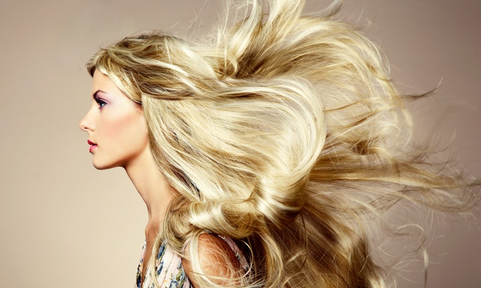 KC Stylist Studio - Multiple Locations: One or Three Washes and Blowouts, or Five Washes, Deep-Conditioning, and Blowouts  at KC Salon (Up to71% Off)