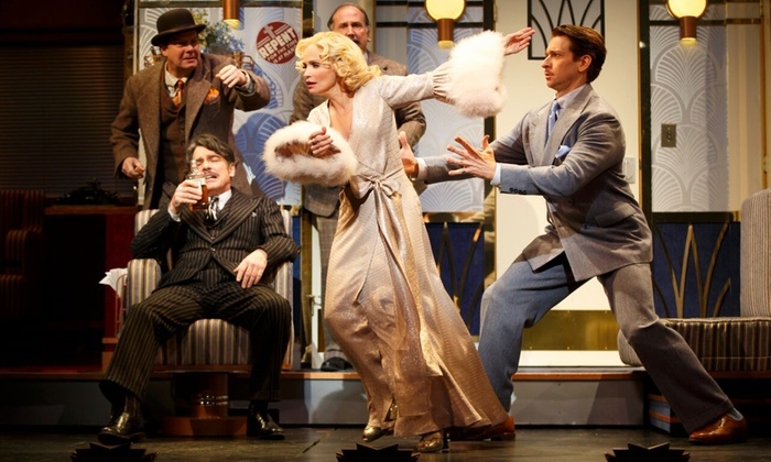 """""""On the Twentieth Century"""" - American Airlines Theatre: Broadway's """"On the Twentieth Century"""" with Kristin Chenoweth and Peter Gallagher on July 7–15 (Up to 39% Off)"""