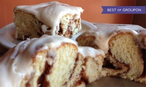 Cinnamon Productions Bakery Cafe: $13 for $20 Worth of Cafe Food and Baked Goods at Cinnamon Productions Bakery Cafe