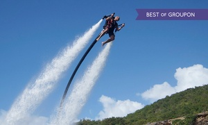 Jetlev-Flyer UK: Water Jetpack Flying Experience from £43 With Jetlev-Flyer UK (Up to 12% Off)