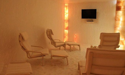 Three or Five 45-Minute Sea-Salt-Therapy Sessions at Sea Salt Therapy (Up to 78% Off)