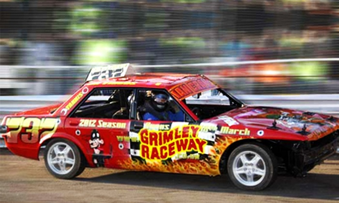 Grimley raceway - Worcester: Stock Car and Banger Racing: Ticket For Family of Four for £10 at Grimley Raceway (60% Off)