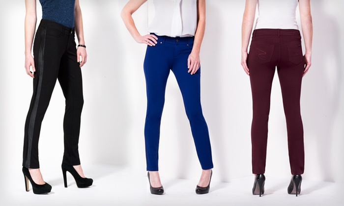 Seven7 Ponte Pants: Seven7 Ponte Pants (Up to 58% Off). Multiple Styles and Sizes Available. Free Shipping and Free Returns.