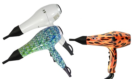 ISO Ionic Pro 2000 Patterned Hair Dryer