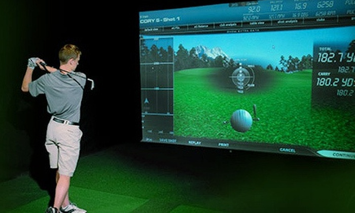Greenhouse Golf - Waldwick: Virtual Golf for Up to Two or Four, or BYOB Virtual-Golf Party for Up to Eight at Greenhouse Golf (Up to 57% Off)