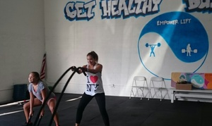 Empower Lift: 12 Weeks of Fitness and Conditioning Classes at Empower Lift (67% Off)