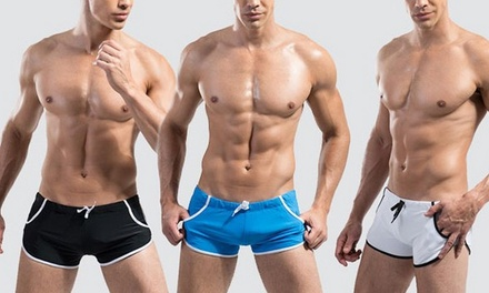 Men's Slim Fit Swim Trunks